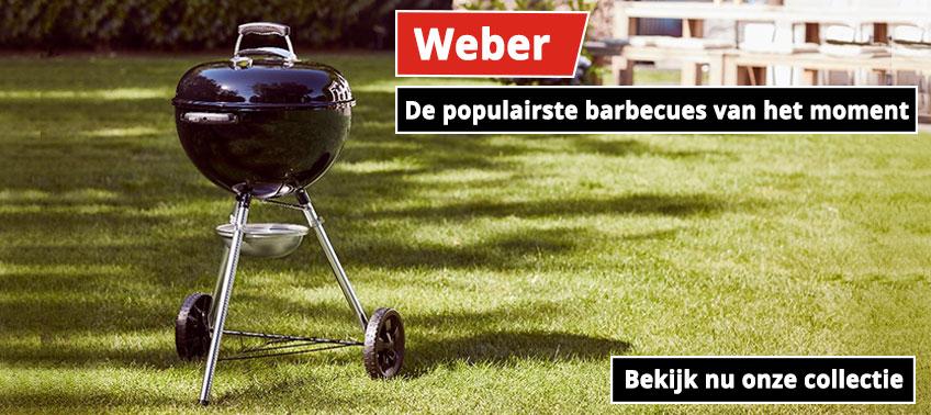 Weber populairste barbecues van het moment