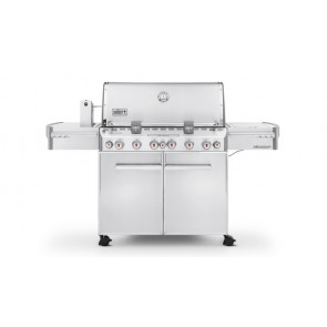 Weber Summit S-670 GBS 'System Edition' RVS