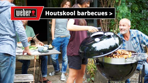 Weber houtskoolbarbecues - BBQ's