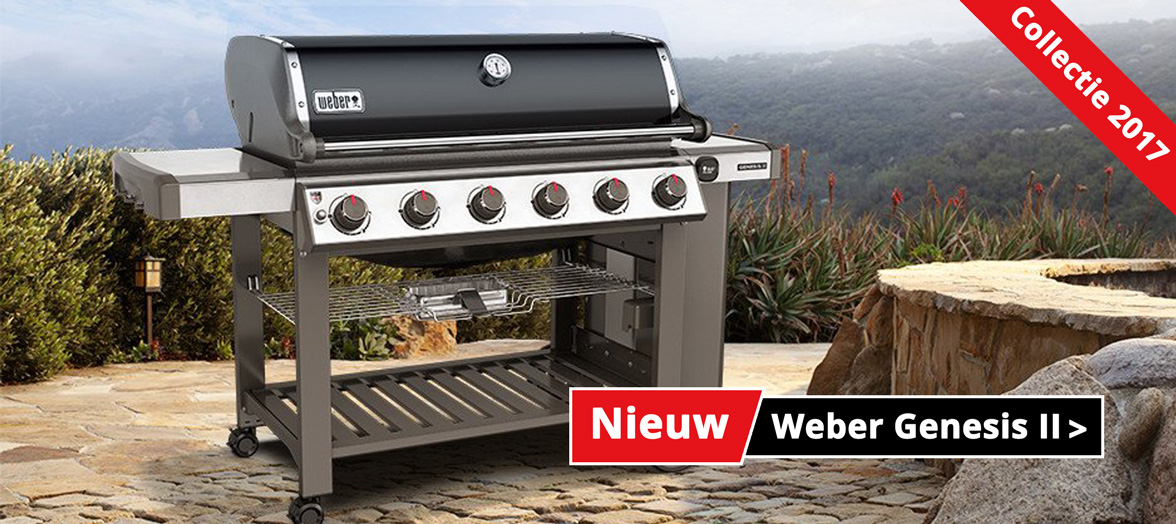 Weber Genesis II barbecues Nieuwe collectie 2017