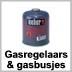 gasregelaars en gasbusjes